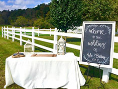 Red Barn Event Rentals | Outdoor Weddings KY | Reunions